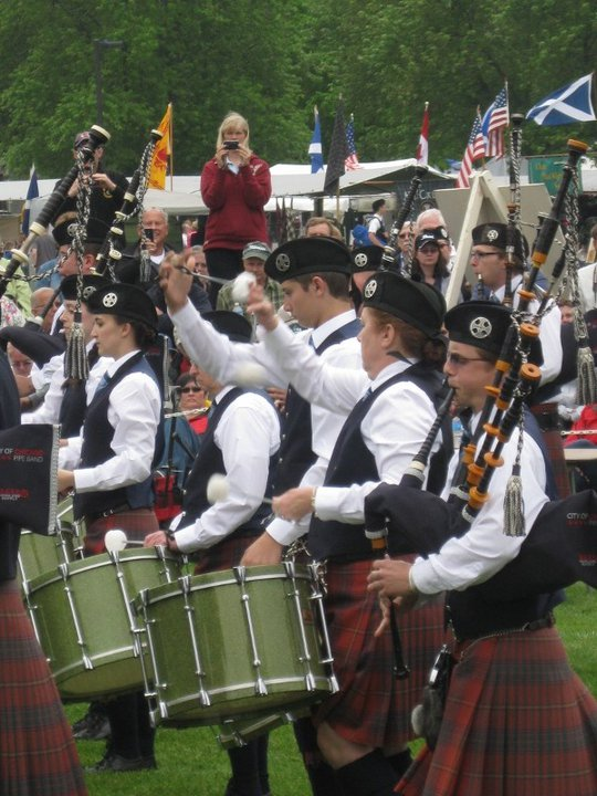 Ian Peterson - While with the City of Chicago Pipe Band